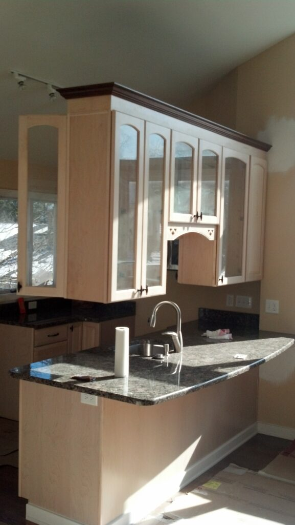 Cantilevered Cabinets